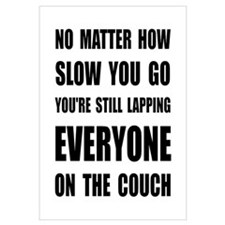 Lapping The Couch Wall Art