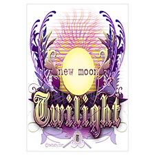 Twilight New Moon Violet Intrigue Wall Art