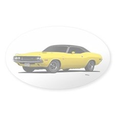 1970 Challenger Bright Yellow Decal
