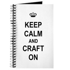 Keep Calm and Craft On Journal