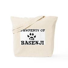 Pawperty: Basenji Tote Bag