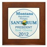 Santorum MONTANA Framed Tile