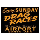 Drag Races Wall Art