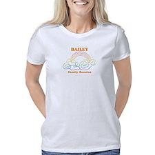 Yak Sailing Women's Plus Size V-Neck Dark T-Shirt