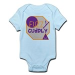 OYOOS Fuzzy Cuddly Boi design Infant Bodysuit