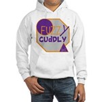 OYOOS Fuzzy Cuddly Boi design Hooded Sweatshirt
