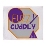 OYOOS Fuzzy Cuddly Boi design Throw Blanket