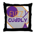 OYOOS Fuzzy Cuddly Boi design Throw Pillow