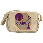 OYOOS Fuzzy Cuddly Boi design Messenger Bag