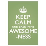 Keep Calm Awesomeness Wall Art
