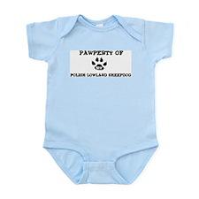 Pawperty: Polish Lowland Shee Infant Creeper