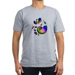 Seashells Men's Fitted T-Shirt (dark)