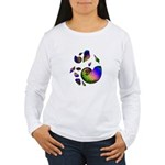 Seashells Women's Long Sleeve T-Shirt