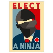 Elect A Ninja Wall Art