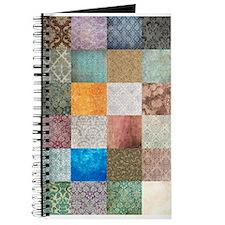 Patchwork Quilt squares patte Journal