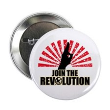 """Join the Revolution 2.25"""" Button"""