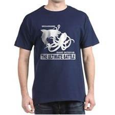 MegaShark Giant Octopus Battle T-Shirt