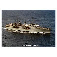 USS YOSEMITE Wall Art