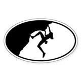 Female - Just Climb Decal