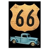 Route 66 Original Wall Art