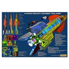Atomic Rocket Cruiser Polaris