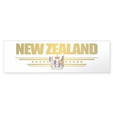 """New Zealand Gold"" Bumper Stickers"
