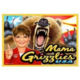 Mama Grizzlies - Sarah Palin Wall Art