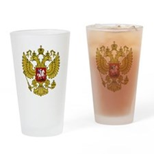 Unique Russian coat arms Drinking Glass