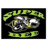 Super Beeee! Wall Art
