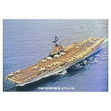 USS HANCOCK Wall Art