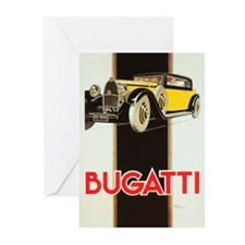 Unique Automobile Greeting Cards (Pk of 10)