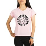Girls Volleyball Coach Gift Performance Dry T-Shir