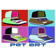 Commodore PET Art Wall Art