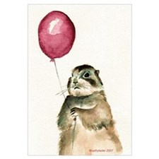 Prairie Dog Balloon Wall Art