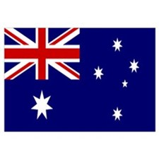 Australian Flag Wall Art