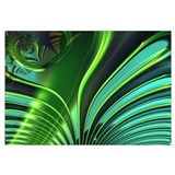 &quot;Jungle 4&quot; Fractal Art Wall Art