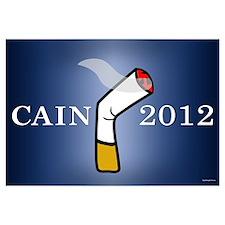 Cain President 2012 Wall Art