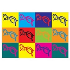 Optics Pop Art Wall Art