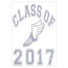 Class Of 2017 Track & Field Wall Art