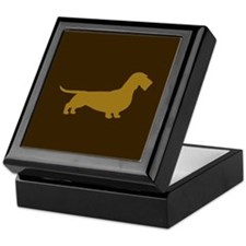 Wire Haired Dachshund Keepsake Box