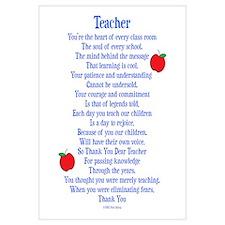 Teacher Thank You Wall Art
