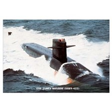 USS JAMES MONROE Wall Art