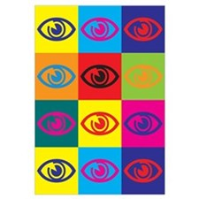 Optometry Pop Art Wall Art