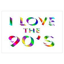 Love 90's Wall Art