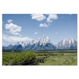 Teton Fence Wall Art