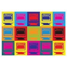 Desktop Publishing Pop Art Wall Art