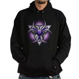 Purple Triple Crescent Moons Hoody