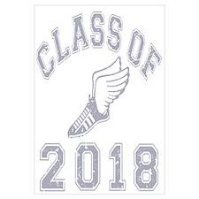 Class Of 2018 Track & Field Wall Art