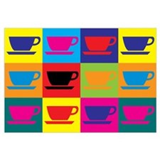 Coffee Pop Art Wall Art