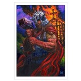 THORKIL THE VIKING 17x11 Art Print SEAN PATTY